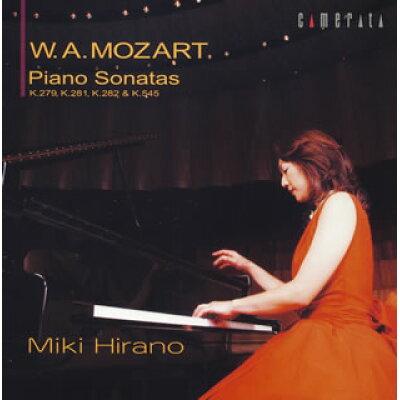 W.A.モーツァルト:ピアノ・ソナタ全集 vol.1/CD/CMCD-28076