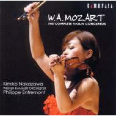 モーツァルト:ヴァイオリン協奏曲全集/CD/CMCD-20064