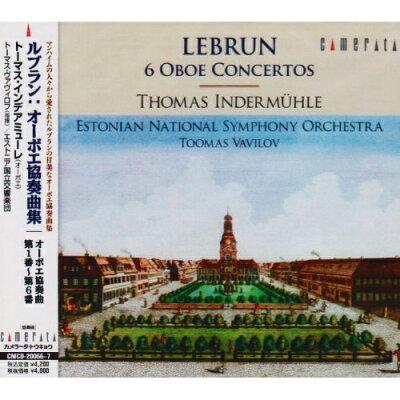 ルブラン:オーボエ協奏曲集/CD/CMCD-20066
