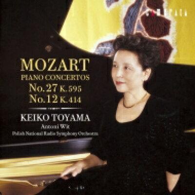 モーツァルト:ピアノ協奏曲第27番,第12番/CD/CMCD-20085