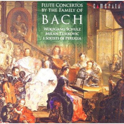 バッハ・ファミリーによるフルート協奏曲集/CD/CMCD-28140