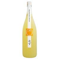 平和酒造 鶴梅 ゆず酒 1.8L