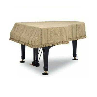グランドピアノカバー GP-588GDE ゴールド C1X用