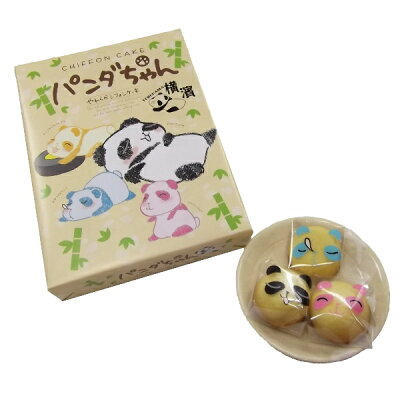 永井園 ファミリーパンダちゃん やわらかシフォン 上野 12個