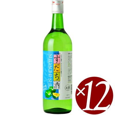 本家松浦 辛口無添加 すだち酒の素 720ml