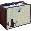 大容量ドキュメントボックス仔猫のシルエット