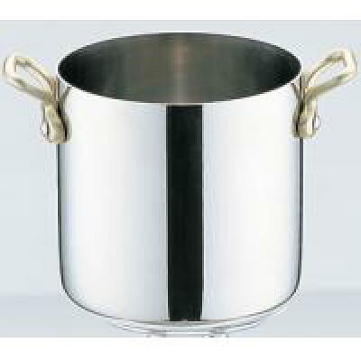 UK18-8 プチパン両手寸胴鍋(蓋無) 9cm (0245688)