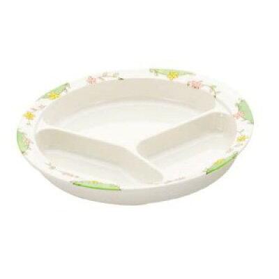 シンカ(信濃化学工業)ユニバーサル食器仕切皿「グリーンパーク」2950GP