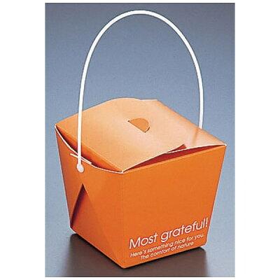 天満紙器 フードペール   ks6100 オレンジ xfc0201