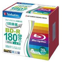 バーベイタム BD-R ビデオ用 1回録画用 VBR130YP20V1(20枚入)