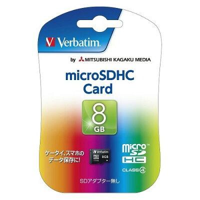 バーベイタム microSDカード 8GB CLass4 MHCN8GYVZ2(1枚入)