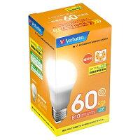 三菱化学メディア LED電球 Verbatim 60W 電球色