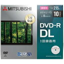 三菱化学メディア 録画用DVD-R DL 2-8倍速 8.5GB 10枚 VHR21HP10D1-B