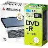 三菱化学メディア 1-16速 データ用DVD-Rメディア 4.7GB10枚 DHR47JD1-B ビックカメラグループオリジナル