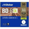 Victor 一回録画用 BD-R VBR260YP10J1