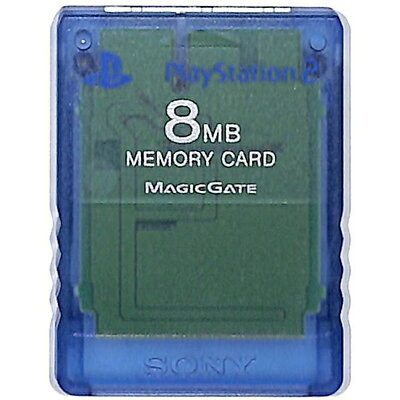 メモリーカード b サミー製・クリアブルー