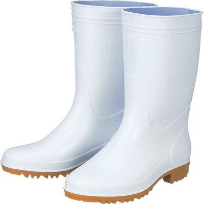 ジーベック 抗菌衛生白長靴85760白235 85760235