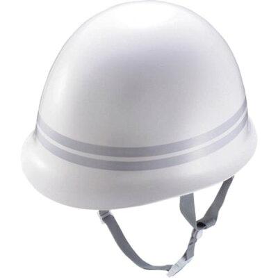 ジーベック XEBEC ヘルメットMPタイプ反射 2ホンセン ワンサイズ 32/シロ 18700
