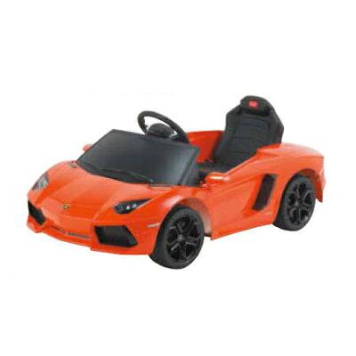 電動乗用玩具 ランボルギーニ オレンジ  lamborghini aventador lp700-4