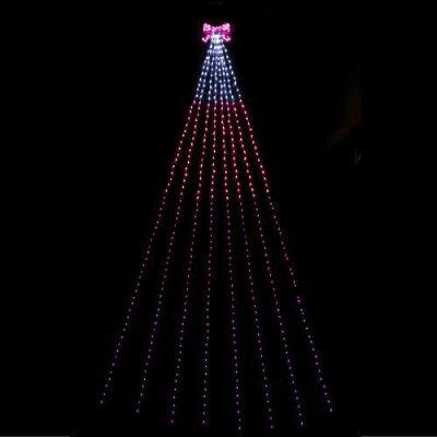 LEDナイアガラライトDXリボン ピンクグラデーション WG-5395