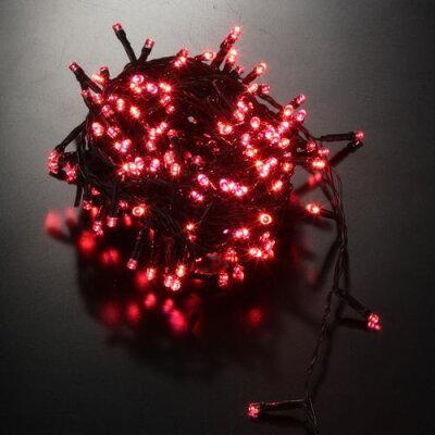 LEDカラーチェンジングストレートライト500球(ブルー&レッド)