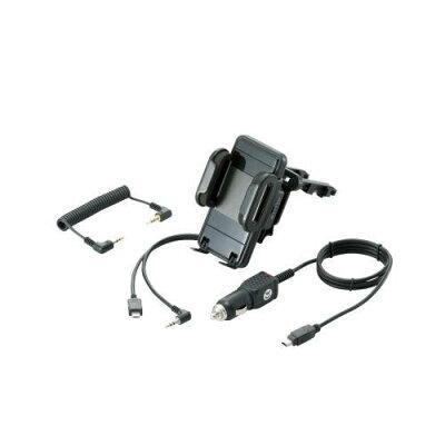 ロジテック 車載用FMトランスミッター内蔵ホルダー エアコンダクト設置タイプ iPod touch/iPhone用 LAT-MPiH03A