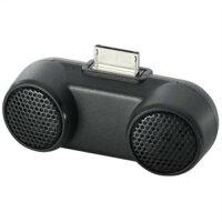 ロジテック ポータブルステレオスピーカー WM-PORT搭載 Walkman用 ブラック LDS-WMP500BK
