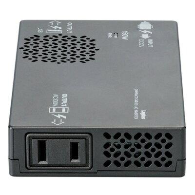 エレコム ロジテック 車載用 DC-AC インバーター 充電器 LPA-CIVT150BK(1セット)