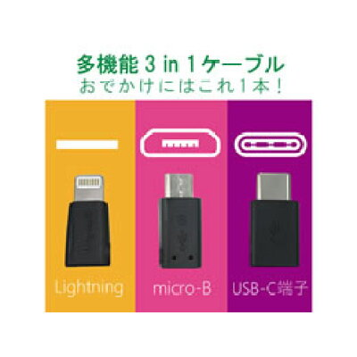 Logitec USBケーブル LHC-AMBLCAD12WH