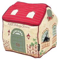 魔女の 収納ボックス 家型インテリアボックス コリコの洋館 ジブリ 丸眞 30×30×37cm