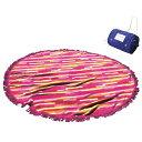 ラウンドビーチタオル 持ち運びバッグ付き 形ビッグタオル 丸眞 直径  海プールグッズ