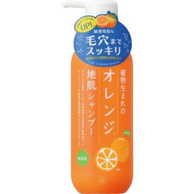 植物生まれのオレンジ地肌シャンプーN(400ml)