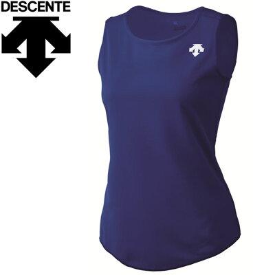 デサント ワンポイントランニングシャツ DRN-4723W-ROY