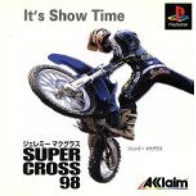 PS ジェレミーマクグラススーパークロス98 PlayStation
