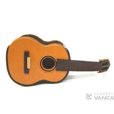 VANCA CRAFT 革物語 本革製メガネ小物スタンド ギター