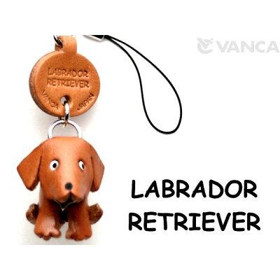 VANCA CRAFT 革物語 本革携帯犬ストラップ プチワンチャン ラブラドールレトリーバー