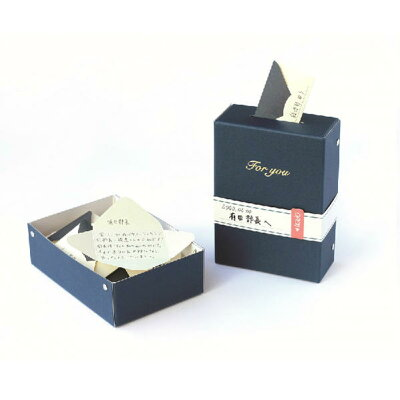 アルタ ひみつのレターボックス AR0819094 ネイビー