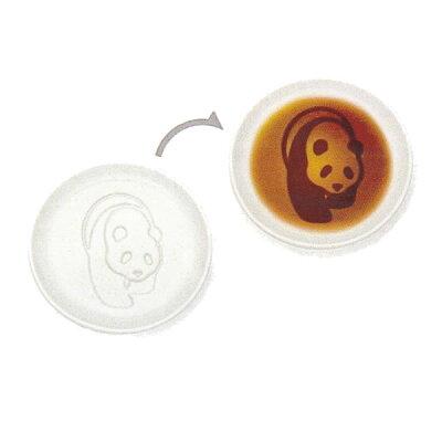パンダ醤油皿 あるく   クリックポスト
