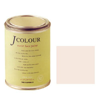 ターナー色彩 水性インテリアペイント Jカラー 0.5L パッションホワイト JC05WH5A 1152068