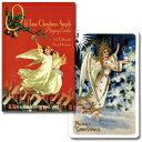 (オリジナルは18世紀のポストカード)トランプ オールドタイムクリスマス シングル ピンク