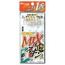 ハヤブサ mixスキンサビキ   鈎3号 ハリス0.6号 幹糸1号  hs712