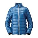 ハヤブサ FOURON ウルトラライトダウンジャケット Y1128W ブルー70 LLサイズ