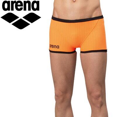アリーナ arena メンズ 競泳水着 ショートボックス Kオレンジ SAR-6102 ORBK