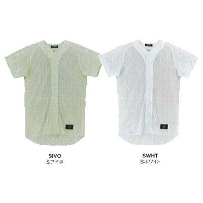 DESCENTE/デサント STD17T-SIVO 学生練習用 メッシュボタンダウンシャツ Sアイボ