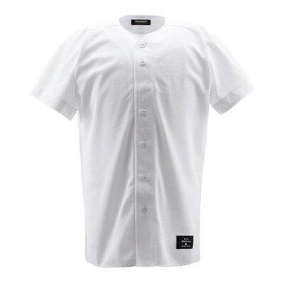 DESCENTE/デサント STD17T-SWHT 学生練習用 メッシュボタンダウンシャツ Sホワイト