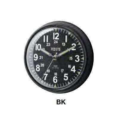 INTERFORM インターフォルム 掛け時計 Garnock ガーノック ブラック CL-2131BK