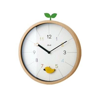 振り子時計 壁掛け時計 ウォールクロック スイープムーブメント インテリア ナチュラル