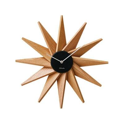 壁掛け時計 掛け時計 シンプル モダン 北欧 レトロ 木