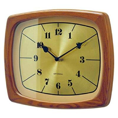 INTERFORM CL-3853BN Enoch 壁掛け時計