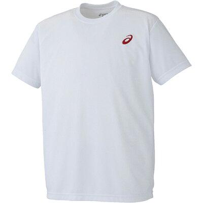 アシックス asics Tシャツ XA101N ホワイト×レッド